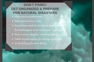 prepare for natural disasters
