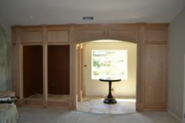 Wine Room Custom in Progress HKC 7-28-11