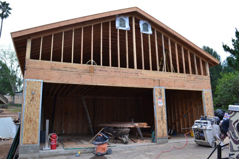 Garage loft construction: Build a room over garage