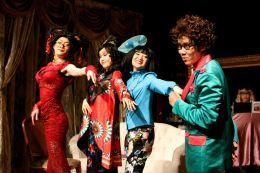 Francis Chan (Bernice), Minna Cheung (Pamela), Rosalind Wong (Justine) and Yolanda So (Y.Y. Leung)