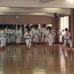 日大鶴ケ丘高中空手道部練習情況 A training session at the Karatedo Squad of Tsurugaoka High School, Nihon University