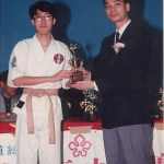 林潤疇奪得男子高級組套拳冠軍 Mr. Lam Yun-chow won the Senior Men Kata Champion