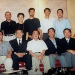各師範、前輩攝於九龍太平洋會所 Japanese Senseis and Senpeis at the Kowloon Pacific Club