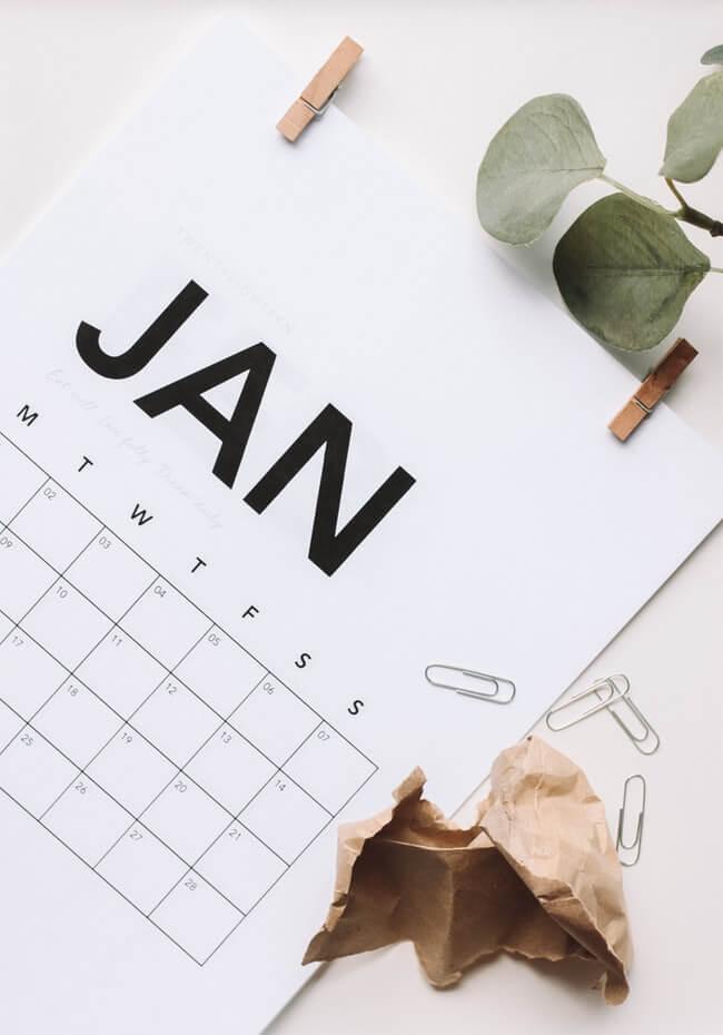 2020 勞工假期和公眾假期一覽表