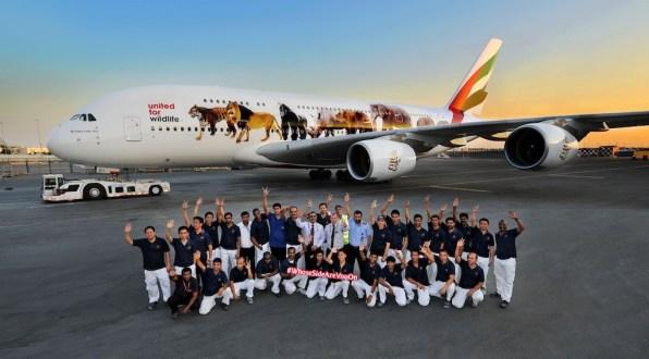 United for wildlife Jumbo jet 3