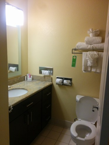 Clean and new bathroom