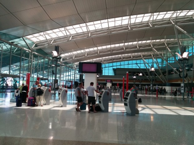 sydney t3 check-in