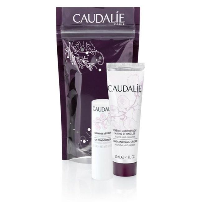 Caudalie - 葡萄籽滋養抗氧護手及潤唇套裝