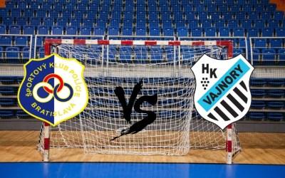 SKP Bratislava vs Vajnory