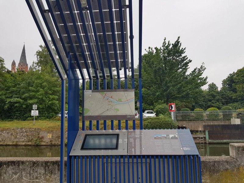 Diese Radstationen stehen am Radweg Deutsche Einheit und erzählen etwas zur Station.