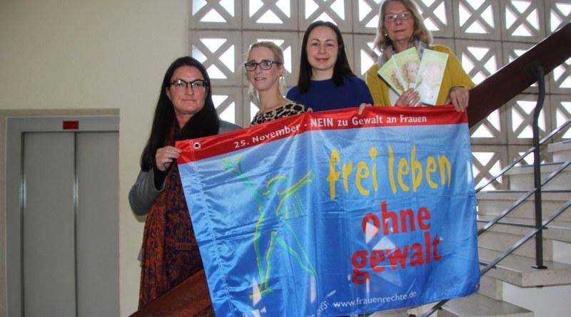 Aktionstag Nein zu Gewalt an Frauen