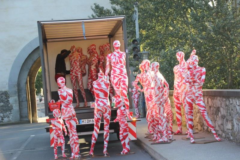 Kunstinstallation Meges Limburg