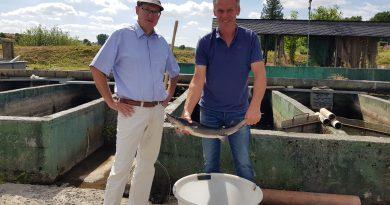 PM Stadt Hadamar – Nachhaltige Fischzucht trotz Corona