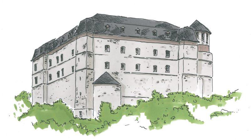 Laneburg Skizze Architektin Patricia Wolf