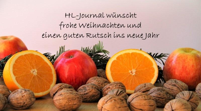 Weihnachtsgruß HL-Journal