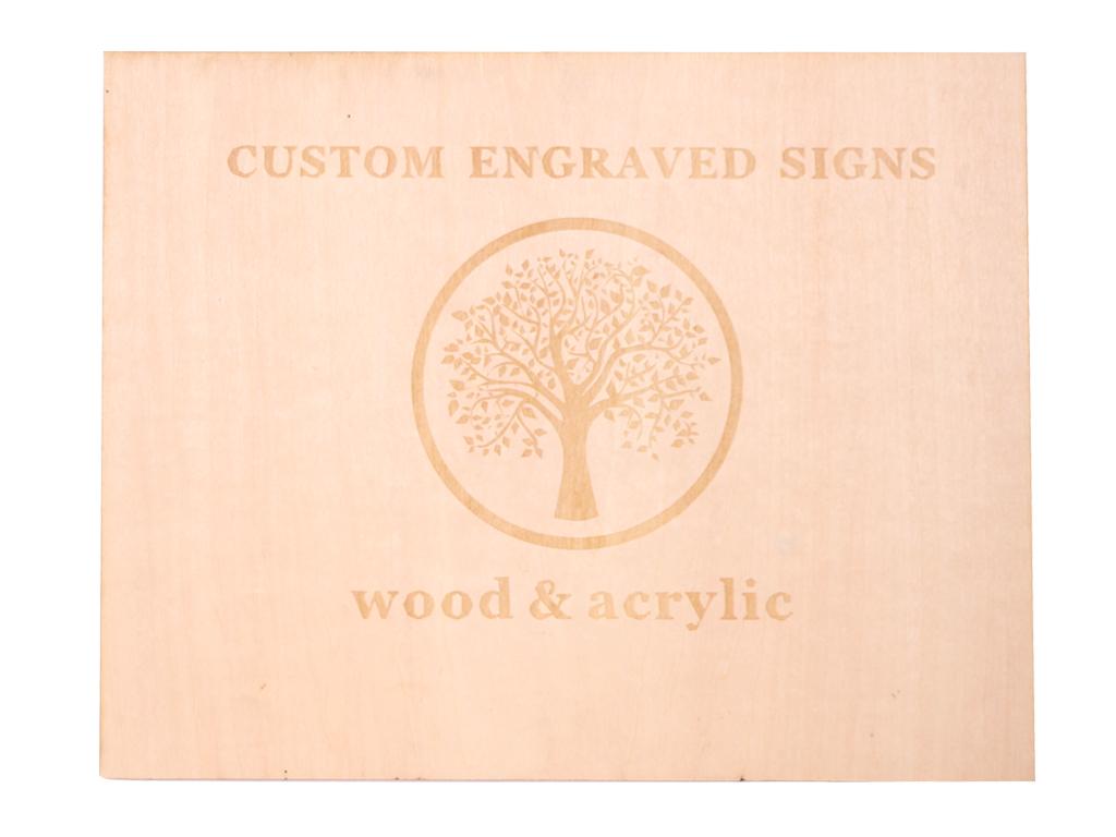 HL-laser-Sign-laser-engraving-Wood