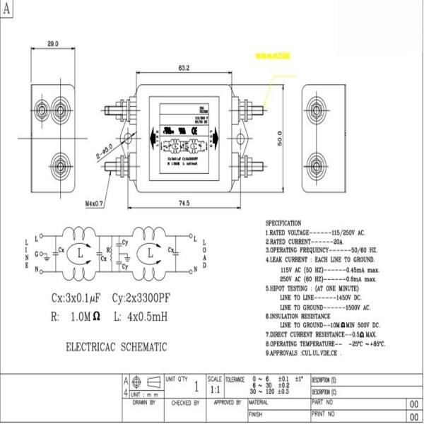 hl-co2-laser-emi-filter-chart