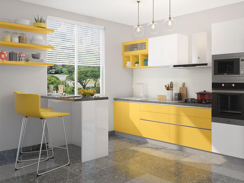 Modular Kitchen Designs With Prices   HomeLane on Model Kitchen Ideas  id=14085