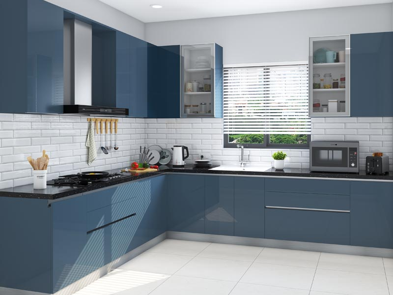Modular Kitchen Designs With Prices   HomeLane on Model Kitchen Ideas  id=96946