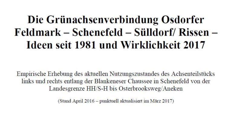Grünachsenverbindung Osdorf