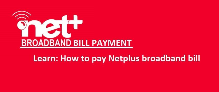 netplus bill payment