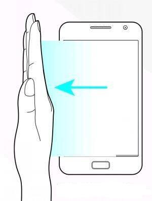 how to take screenshot in Samsung M2