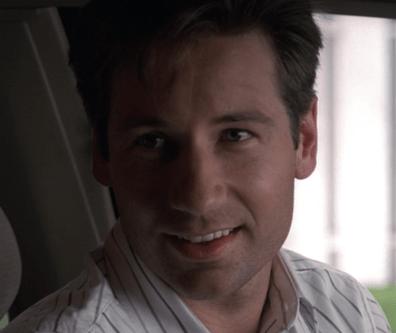 Mulder Flirting!