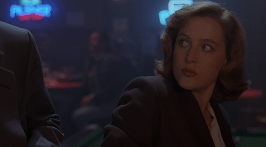 Scully begins to wonder if Mulder has a death wish