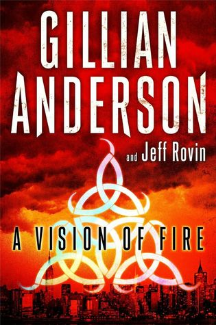 An image shows the cover of the book A Vision of Fire.