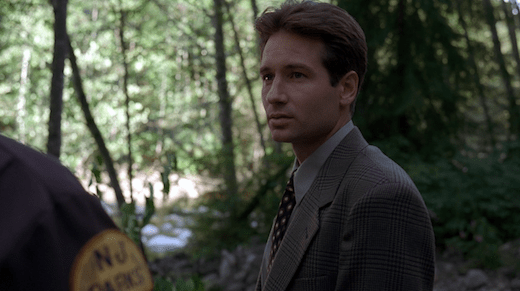 Mulder eagerly listens to Brullet.