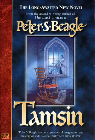 The cover of Tamsin by Peter S Beagle is shown.
