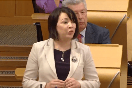 Monica Lennon at First Minister's Questions