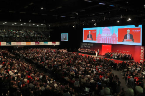 John McDonnell addresses conference