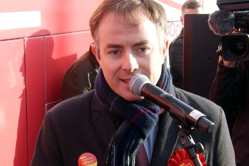 Labour candidate for Lanark and Hamilton east also addressed the gathered crowd