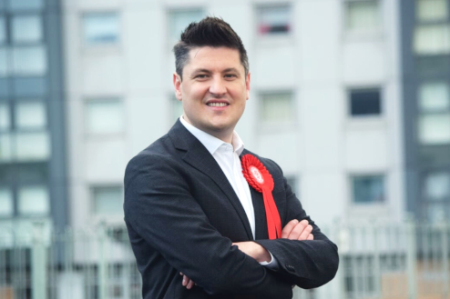 Ged Killen is campaigning for re-election in Rutherglen and Hamilton West