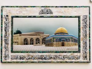 Mother Pearl Aqsa & dome of the rock