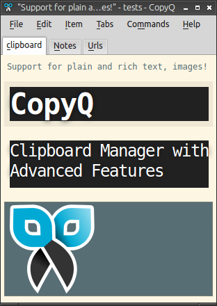 copyq-clipboard-manager-pano-yöneticisi