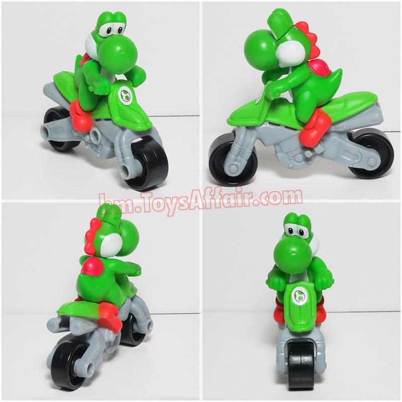 Mariokart 8 Happy Meal Toys