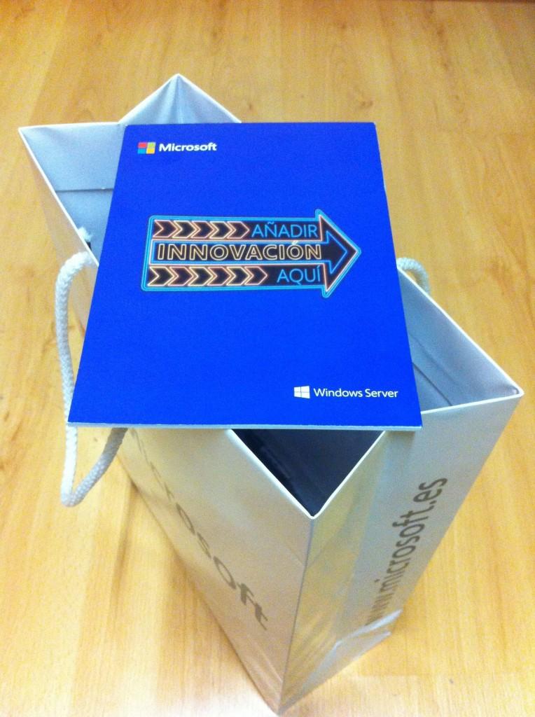Bloc de notas Windows Server