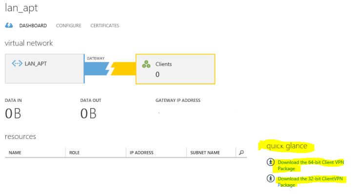 Descarga paquete configuración VPN