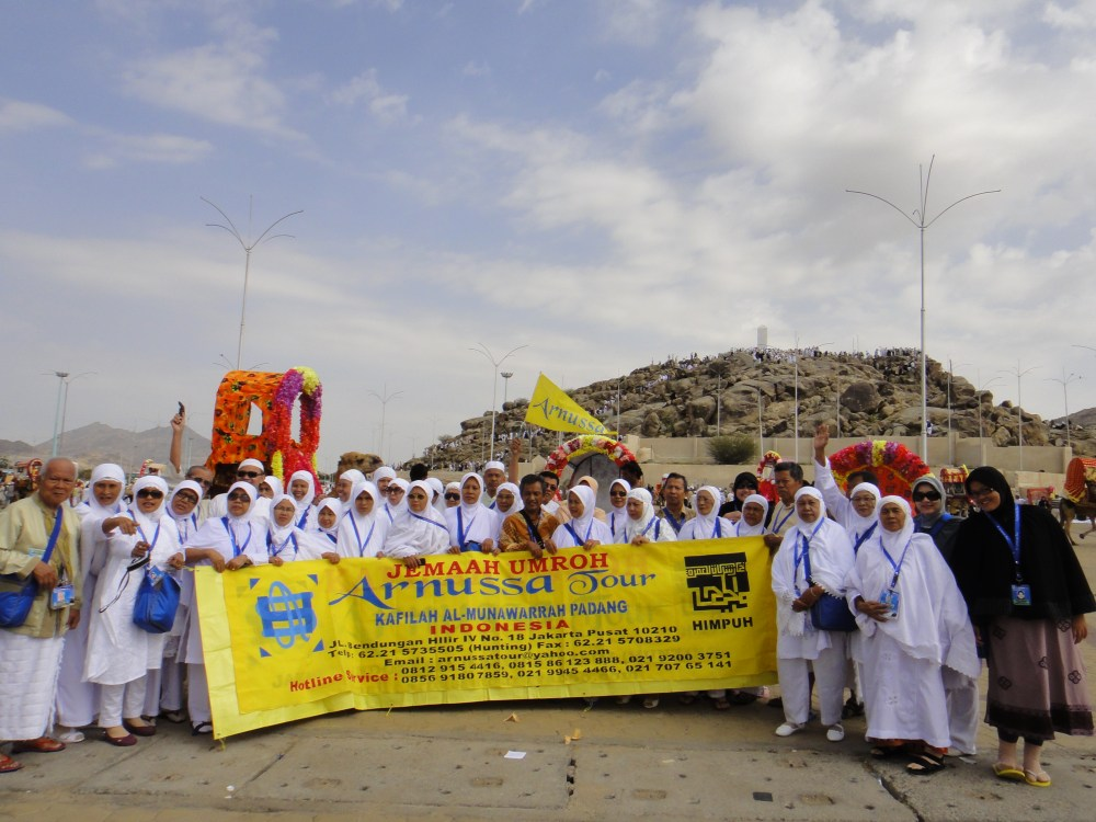 Rihlah Ibadah Umroh ke Makkah al Mukarromah, Maret 2011 bersama jamaah Al Munawwarah Padang diselenggarakan oleh Arnussa Tour Jakarta (3/6)