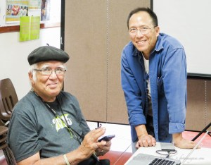 Claude Ayakawa and Terrence Young at Springfest 2015.