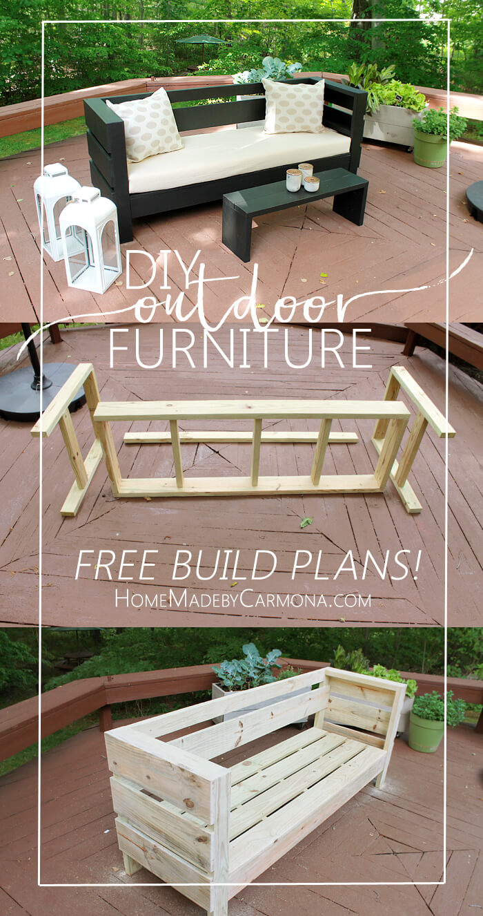 Outdoor Furniture - Free Build Plans