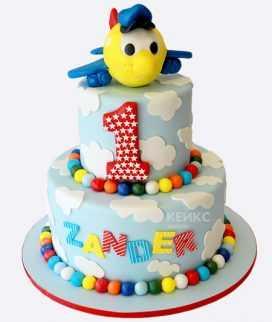 Торт 1 месяц мальчику – Красивые торты для ребенка на 1 ...