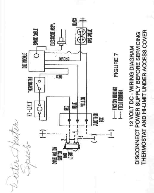 Suburban Rv Hot Water Heater Wiring Diagram - Wiring Diagram