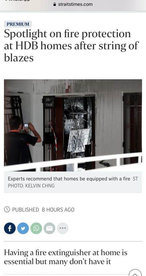 HDB Fire Insurance not cover Home Contents