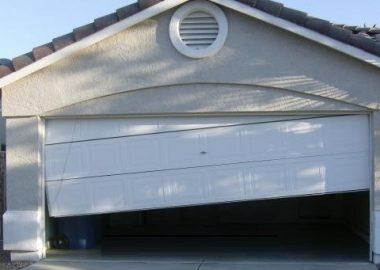 garage door keeps coming off track