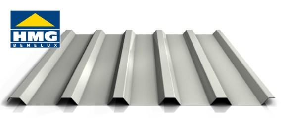Damwandplaat 35/1035 grijswit