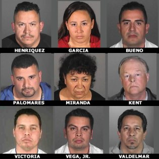 Nine arrested in mortgage fraud scheme; Suspects include La Mirada, HG residents