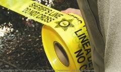crime tape